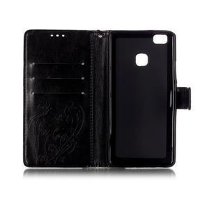 Magicfly knižkové puzdro na telefon Huawei P9 Lite - čierne - 4