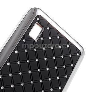 Drahokamový kryt na Huawei Y635 - čierny - 4
