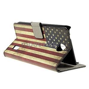 Peňaženkové puzdro Huawei Y635 - US vlajka - 4