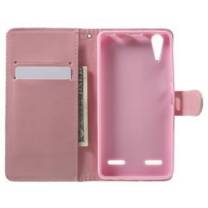 Emotive peňaženkové puzdro pre mobil Lenovo A6000 - púpavy - 4
