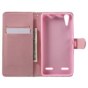 Emotive peňaženkové puzdro pre mobil Lenovo A6000 - dievčatko - 4