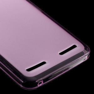 Matný gélový obal pre mobil Lenovo Vibe K5 / K5 Plus - ružový - 4