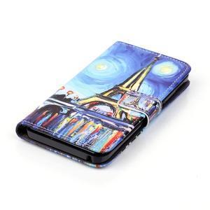 Knížkové puzdro pre mobil Lenovo Vibe K5 / K5 Plus - Eiffelova veža - 4