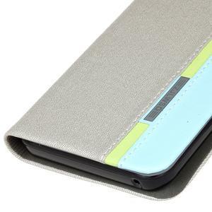 Klopové pouzdro na Lenovo Vibe K5 / K5 Plus - šedé - 4