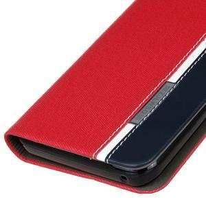 Klopové puzdro pre Lenovo Vibe K5 / K5 Plus - červené - 4