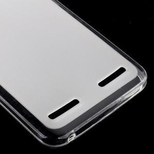 Matný gelový obal na mobil Lenovo Vibe K5 / K5 Plus - transparentní - 4