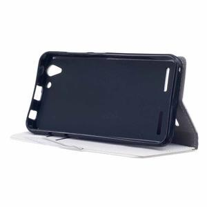 Peňaženkové puzdro pre Lenovo Vibe K5 / K5 Plus - bielé - 4
