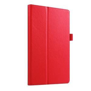 Dvojpolohové puzdro pre tablet Lenovo Tab 2 A8-50 - červené - 4