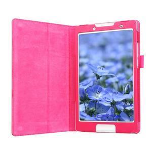 Dvojpolohové puzdro pre tablet Lenovo Tab 2 A8-50 - rose - 4