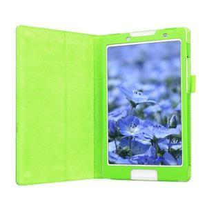 Dvojpolohové puzdro pre tablet Lenovo Tab 2 A8-50 - zelené - 4