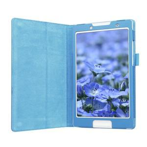 Dvoupolohové pouzdro na tablet Lenovo Tab 2 A8-50 - modré - 4