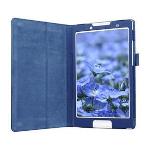 Dvojpolohové puzdro pre tablet Lenovo Tab 2 A8-50 - tmavomodré - 4