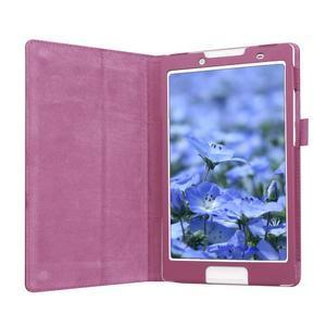 Dvojpolohové puzdro pre tablet Lenovo Tab 2 A8-50 - fialové - 4