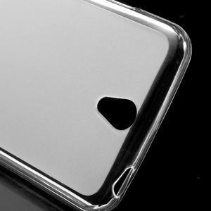 Matný gélový obal pre mobil Lenovo Vibe S1 - Transparentný - 4