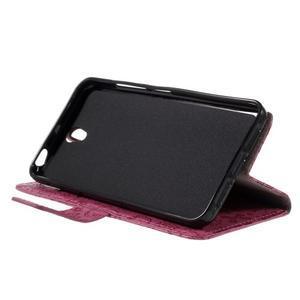Cartoo peňaženkové puzdro pre Lenovo Vibe S1 - rose - 4