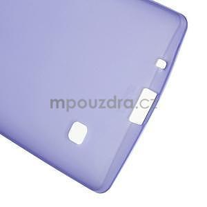 Matný gélový kryt na LG Spirit - fialový - 4