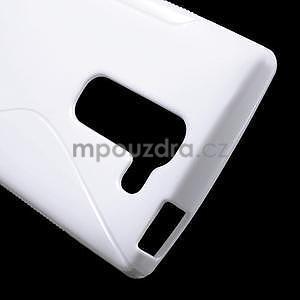 S-line gélový obal pre LG Spirit 4G LTE - biely - 4