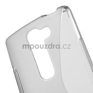 S-line gélový obal na LG Spirit 4G LTE - šedý - 4