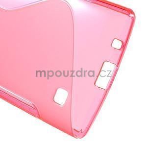 S-line gélový obal pre LG Spirit 4G LTE - rose - 4