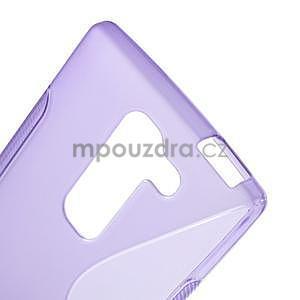 S-line gélový obal na LG Spirit 4G LTE - fialový - 4