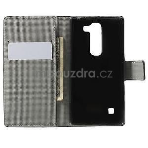 Peňaženkové puzdro na LG Spirit - sovičky - 4