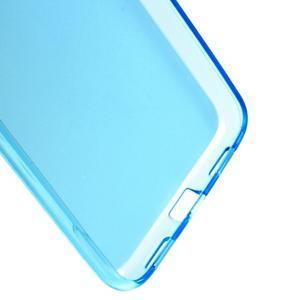 Matný gélový obal pre mobil Meizu M3 note - modrý - 4