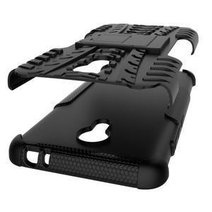 Outdoor odolný kryt na mobil Meizu M3 note - černý - 4