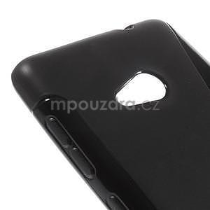 Gélový obal na Microsoft Lumia 535 - čierny - 4
