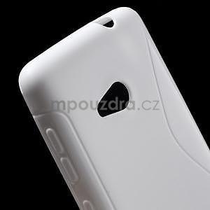 Gélový obal na Microsoft Lumia 535 - biely - 4