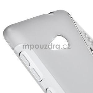 Gélový obal na Microsoft Lumia 535 - šedý - 4