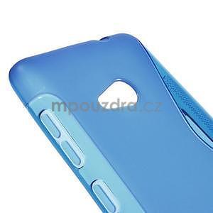 Gélový obal na Microsoft Lumia 535 - modrý - 4