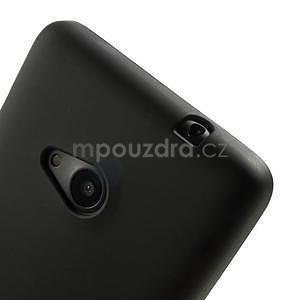 Matný gélový obal Microsoft Lumia 535 - čierny - 4