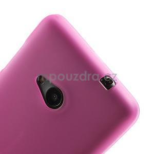 Matný gélový obal Microsoft Lumia 535 - rose - 4