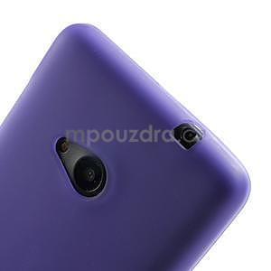 Matný gélový obal Microsoft Lumia 535 - fialový - 4