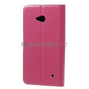 Rose peňaženkové puzdro na Microsoft Lumia 640 LTE - 4