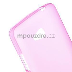 Matný gélový kryt pre Microsoft Lumia 640 LTE - rose - 4