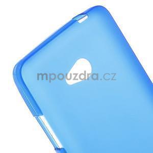 Matný gélový kryt na Microsoft Lumia 640 LTE - modrý - 4