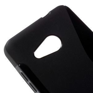 S-line gélový obal na mobil Microsoft Lumia 550 - čierný - 4