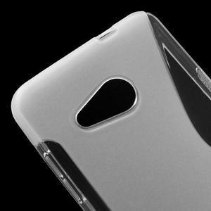S-line gélový obal na mobil Microsoft Lumia 550 - transparentný - 4