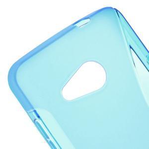 S-line gélový obal na mobil Microsoft Lumia 550 - modrý - 4