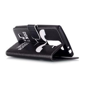 Peňaženkové puzdro na mobil LG Spirit - nešahat - 4
