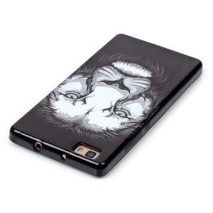 Gélový obal pre mobil Huawei Ascend P8 Lite - lev - 4