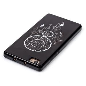 Gelový obal na mobil Huawei Ascend P8 Lite - snění - 4