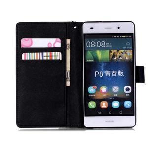Peňaženkové puzdro Huawei Ascend P8 Lite - nedotýkať sa - 4