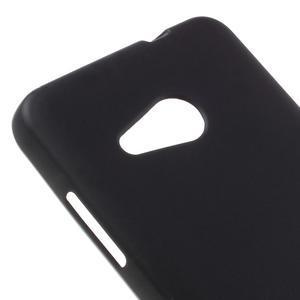 Matný gélový obal pre Microsoft Lumia 550 - čierný - 4