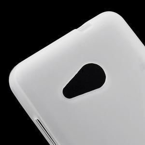 Matný gélový obal na Microsoft Lumia 550 - biely - 4