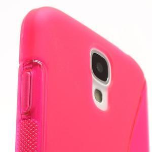 S-line gélový obal na Samsung Galaxy S4 - rose - 4