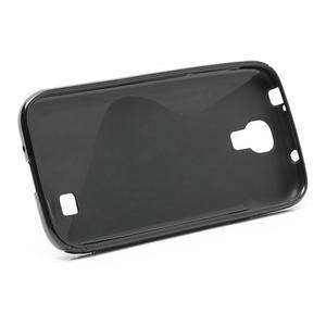 S-line gélový obal na Samsung Galaxy S4 - čierný - 4