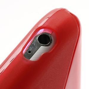 S-line gélový obal pre Samsung Galaxy S4 - červený - 4