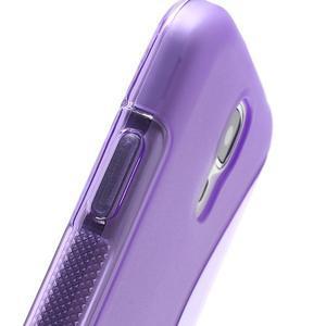 S-line gélový obal na Samsung Galaxy S4 - fialový - 4